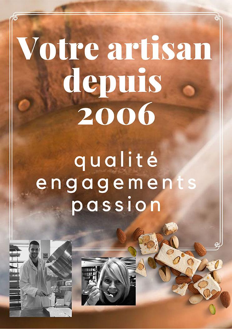 Votre artisan depuis 2006